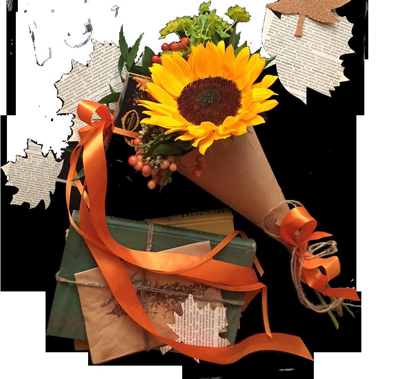 1 сентября в цветочной галерее «Турандот»